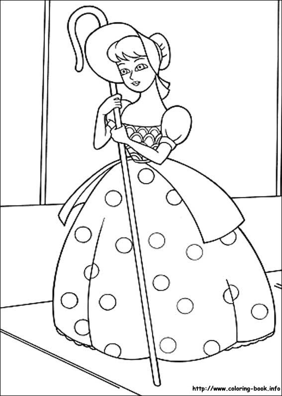 Toy Story Coloring Picture
