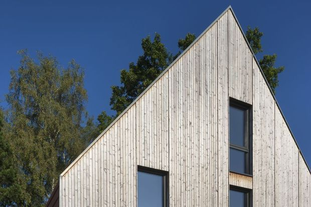 En images  une habitation peu énergivore et confortable à budget - budget pour construire une maison