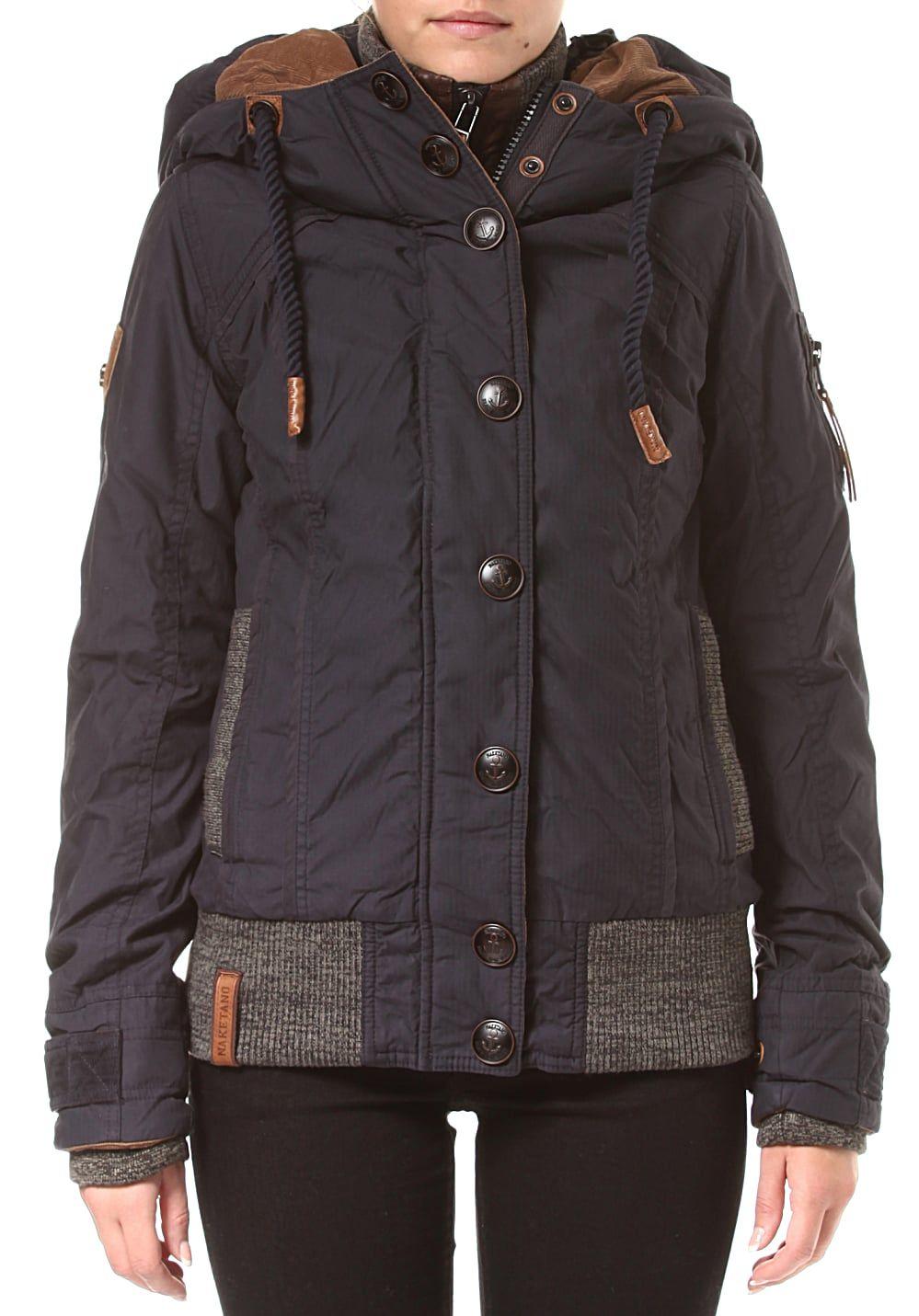 Naketano Shortcut IV - Jacke für Damen - Blau Jetzt bestellen unter  https   9152c6c81f