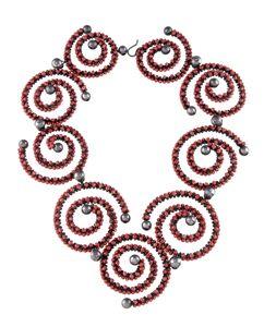 Cinnabar Spirals Necklace Valerie Hector