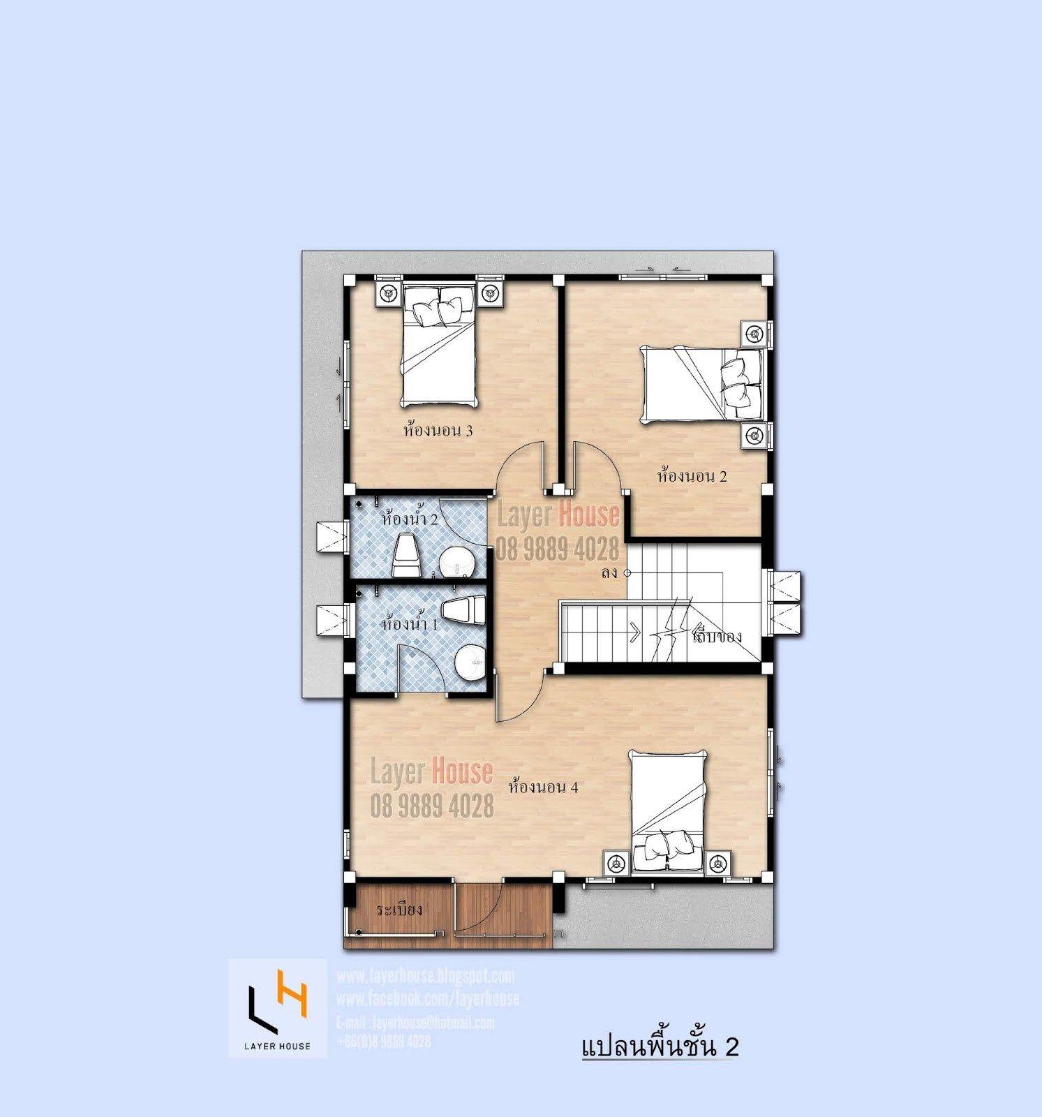 House Plans Idea 7x11 M With 4 Bedrooms Sam House Plans In 2020 House Plan Gallery House Plans Two Storey House Plans
