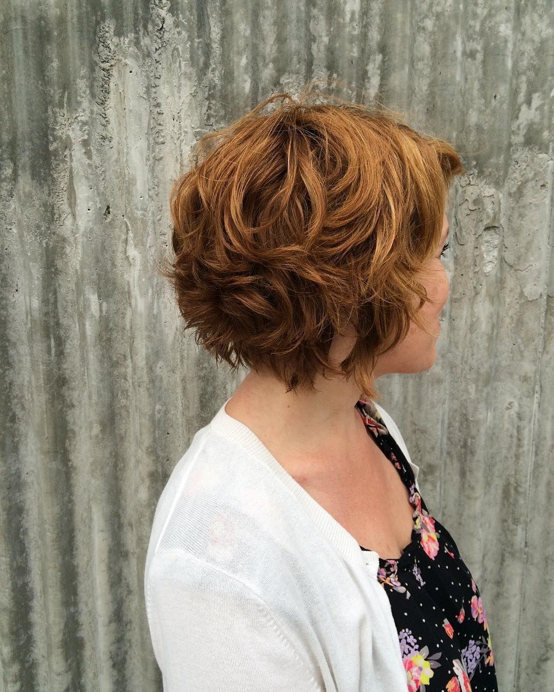 60 Stylish Short Wavy Hairstyles Pure Charm Seasons Pinterest