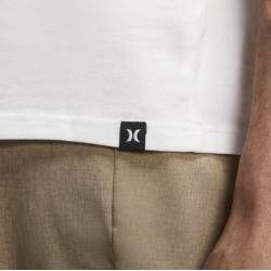 Photo of Hurley Dri-fit Staple Icon Reflective Herren-T-Shirt – Weiß Nike