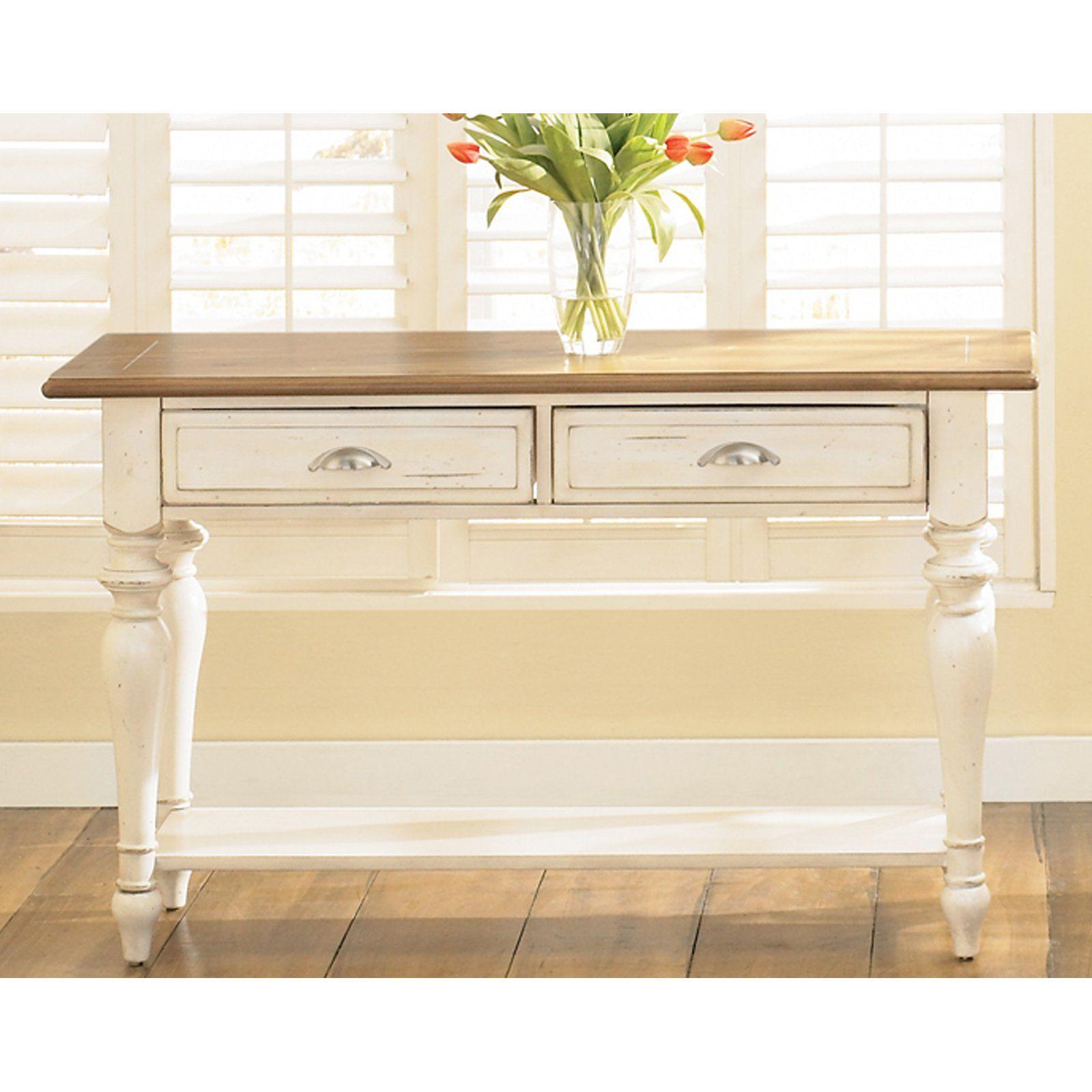 Liberty Furniture Ocean Isle Sofa Table Thereus something so fresh