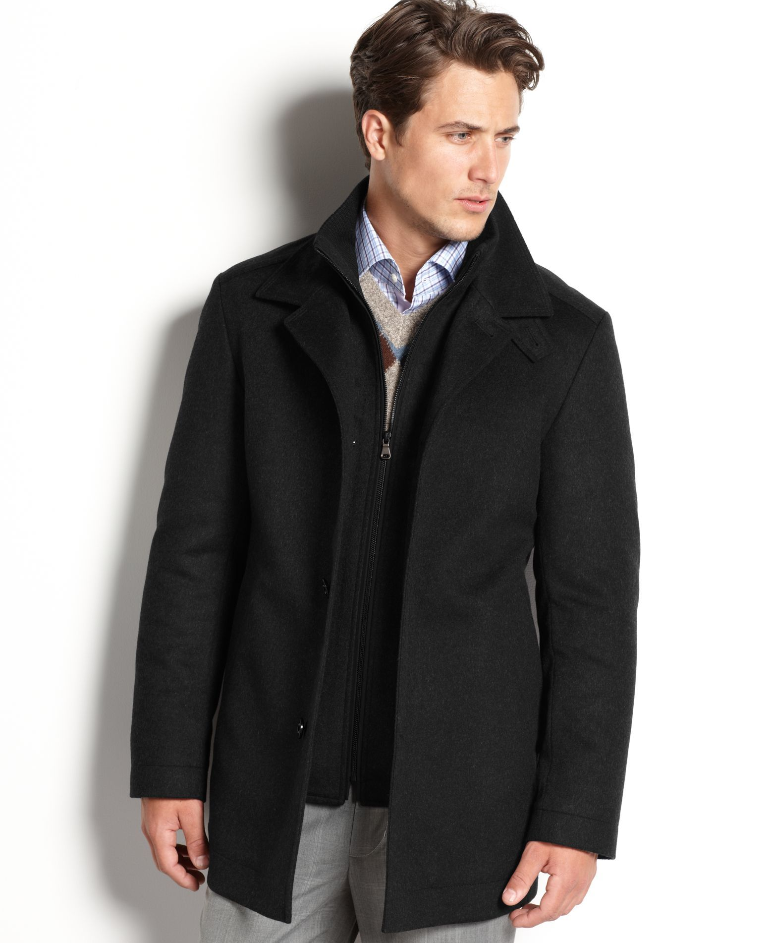 Boss Hugo Boss Coxtan Wool-Cashmere Coat (With images ...