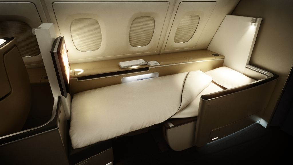 The First Class Sleeper Seat on the Lufthansa Airbus A380