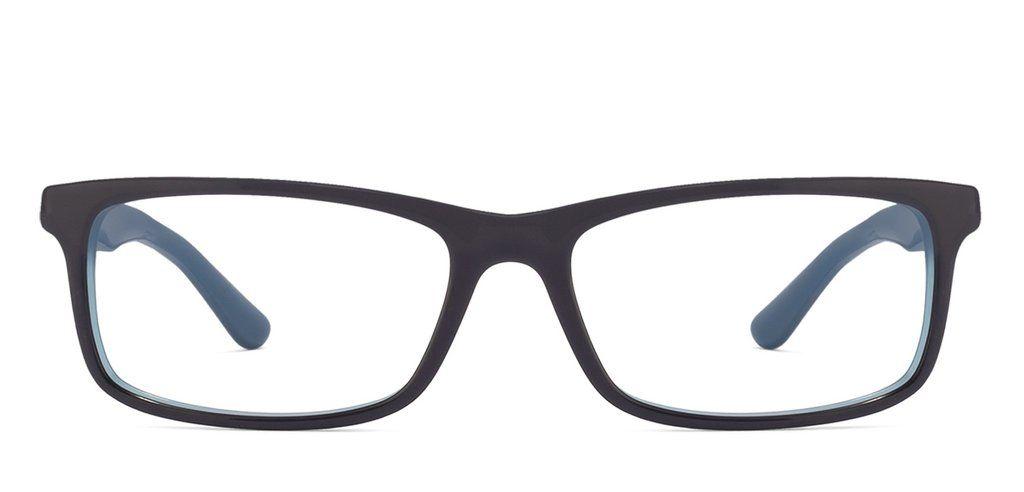 7f6591cb373 Ray-Ban Rx5337 Medium (Size-54) Black Blue 5529 Unisex Eyeglasses ...