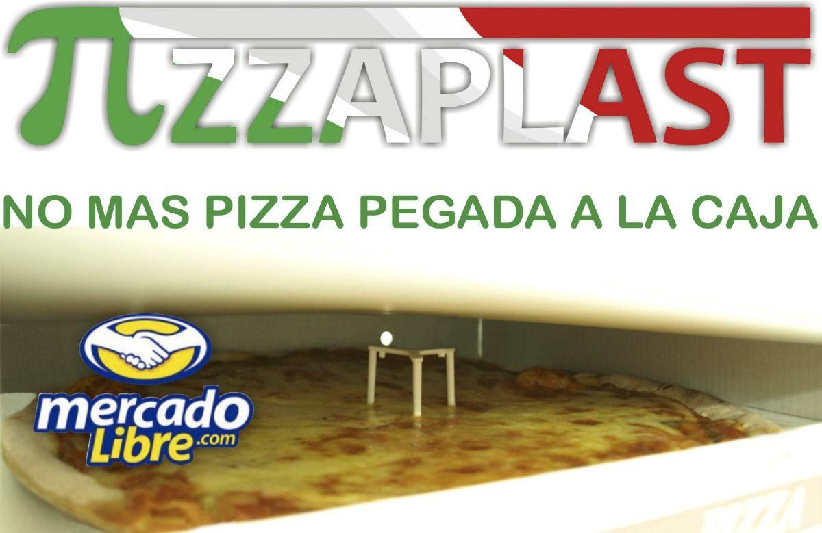 Pizzaplast No Mas Pizza Pegada A La Caja Envio Gratis