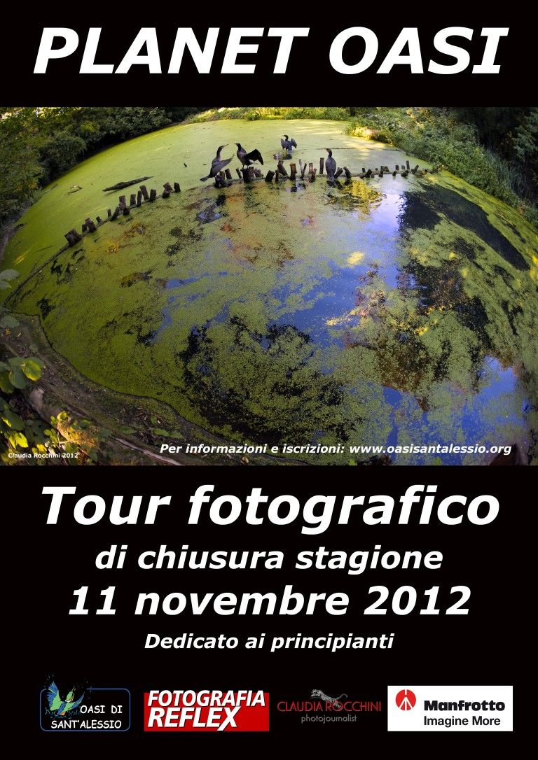 Oasi, il tour fotografico tra i colori dell'autunno