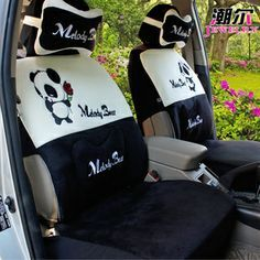 Panda Seat Covers