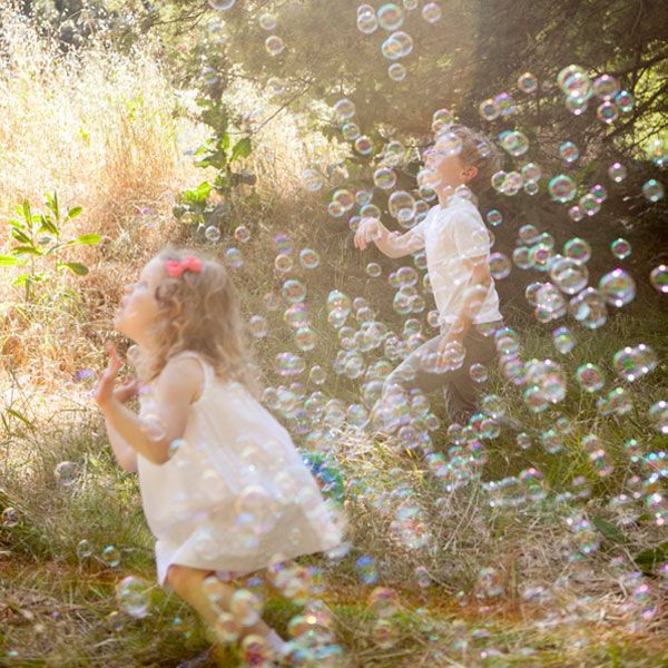 Bubble Relay Race | Oh Happy Day! / Need a bubble machine for Henry's picnic party!