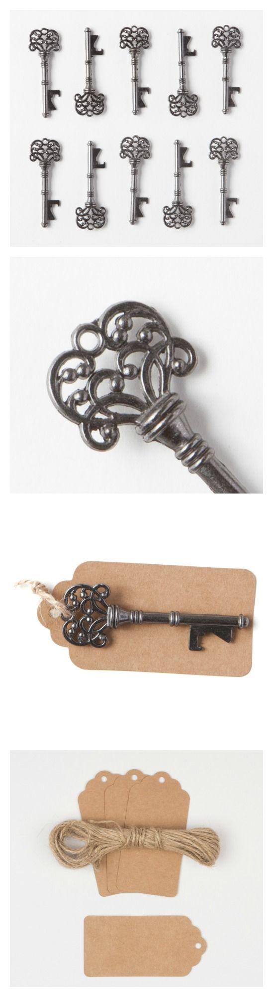 Vintage Key Bottle Openers   Rustic Wedding Favors for Guests ...