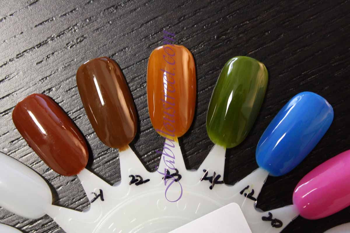 Nfu Oh Cream Color Line - Over The Rainbow OR12, OR20 to OR24