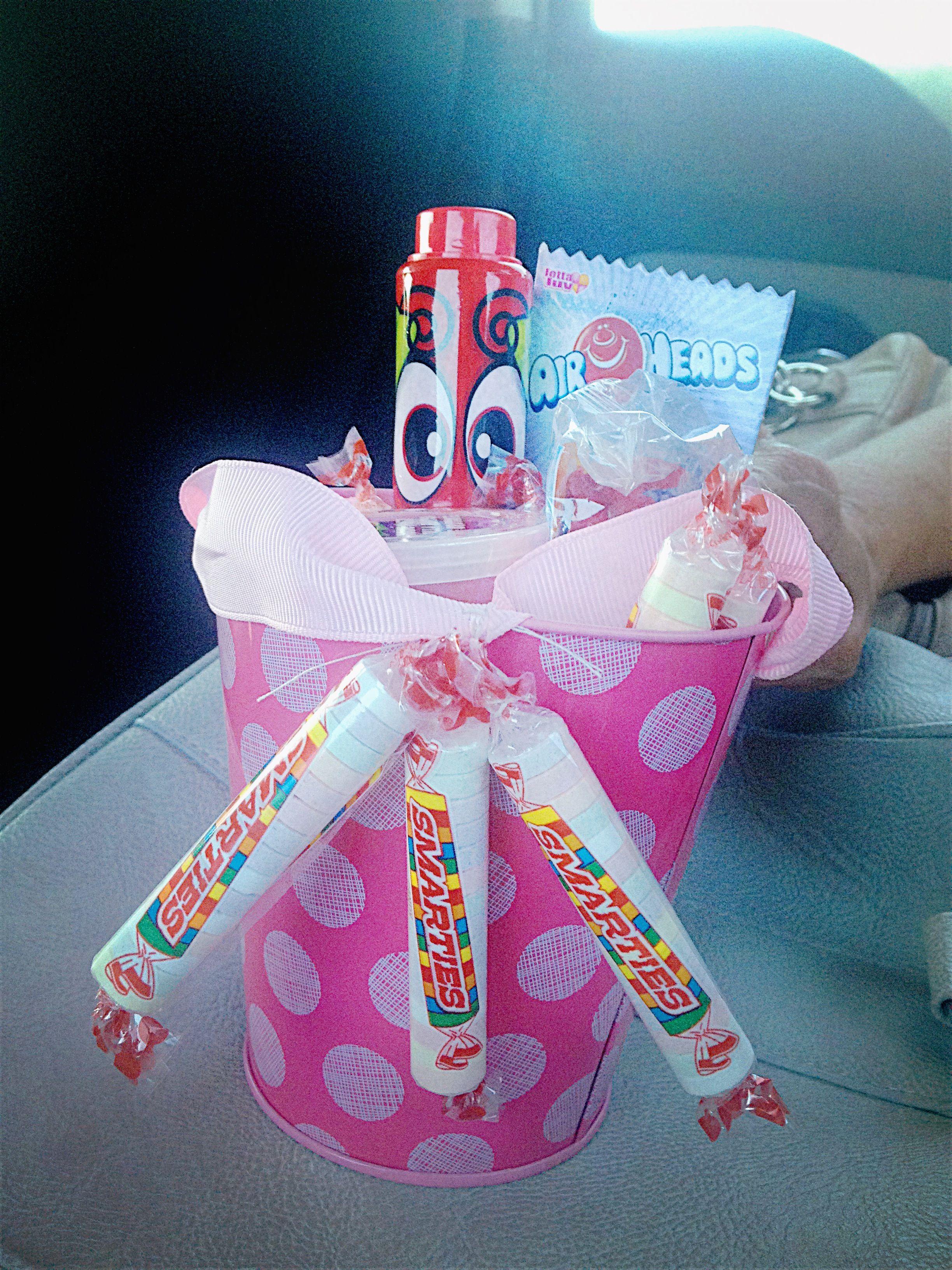 Kindergarten graduation gift smarties are a must