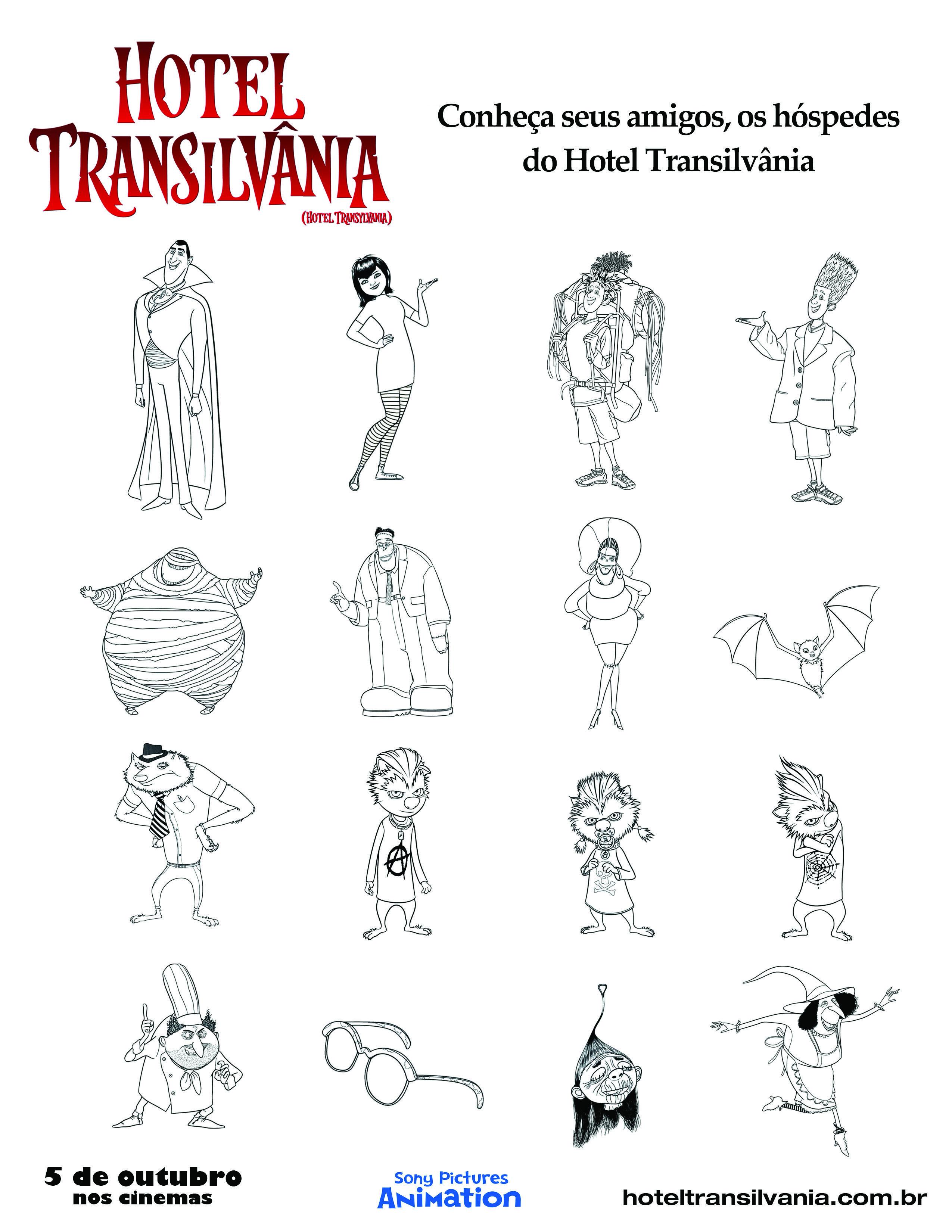 Turma De Hotel Transilvania Com Imagens Hotel Transilvania
