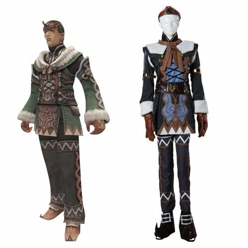 Final Fantasy Cosplay Summoners Caller Final Fantasy XI Costume