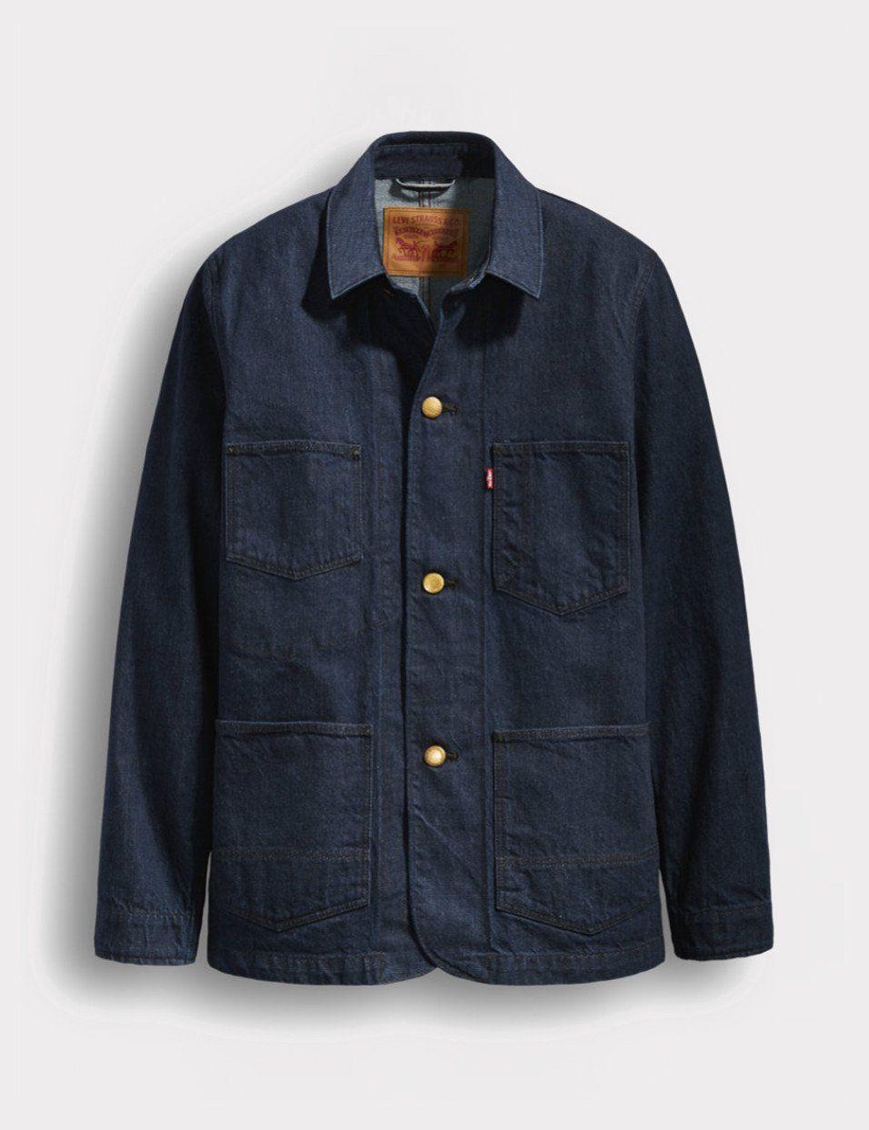 962fd6a0c9 Levis Utility Selvedge Denim Coat - Carl Blue