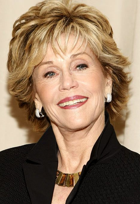 Golden Oldies Sophia Loren Claudia Cardinale And Jane Fonda Show Hollywood How To Age Gracefully Layered Haircuts For Women Short Hair With Layers Short Hair Styles 2014