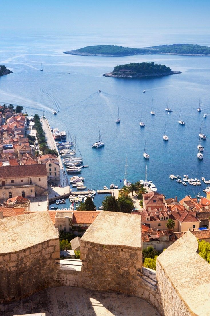 Croatia S Hvar Is A Pretty Harbor Town Packed With Lovely Restaurants Jetsetter