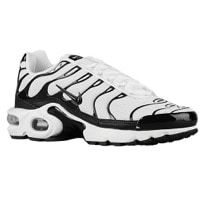 air max plus white and black