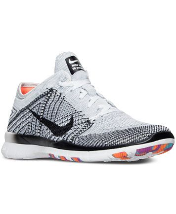 c8bff9f966dd Nike Women s Free TR Flyknit Training Sneakers from Finish Line ...