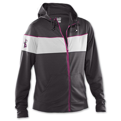 4d14f96b7ad08 womens jacket Under Armour Hero Full-Zip Warm-up Women s Jacket    FinishLine.com   Charcoal Multi