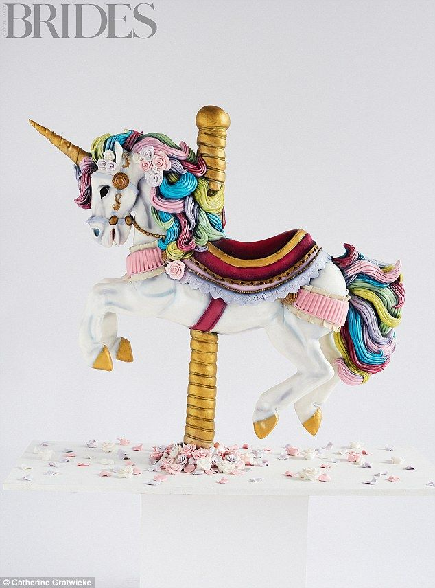 The Unicorn Carousel By Tattooed Bakers,£3,250 (serves 400), tattooed bakers.com
