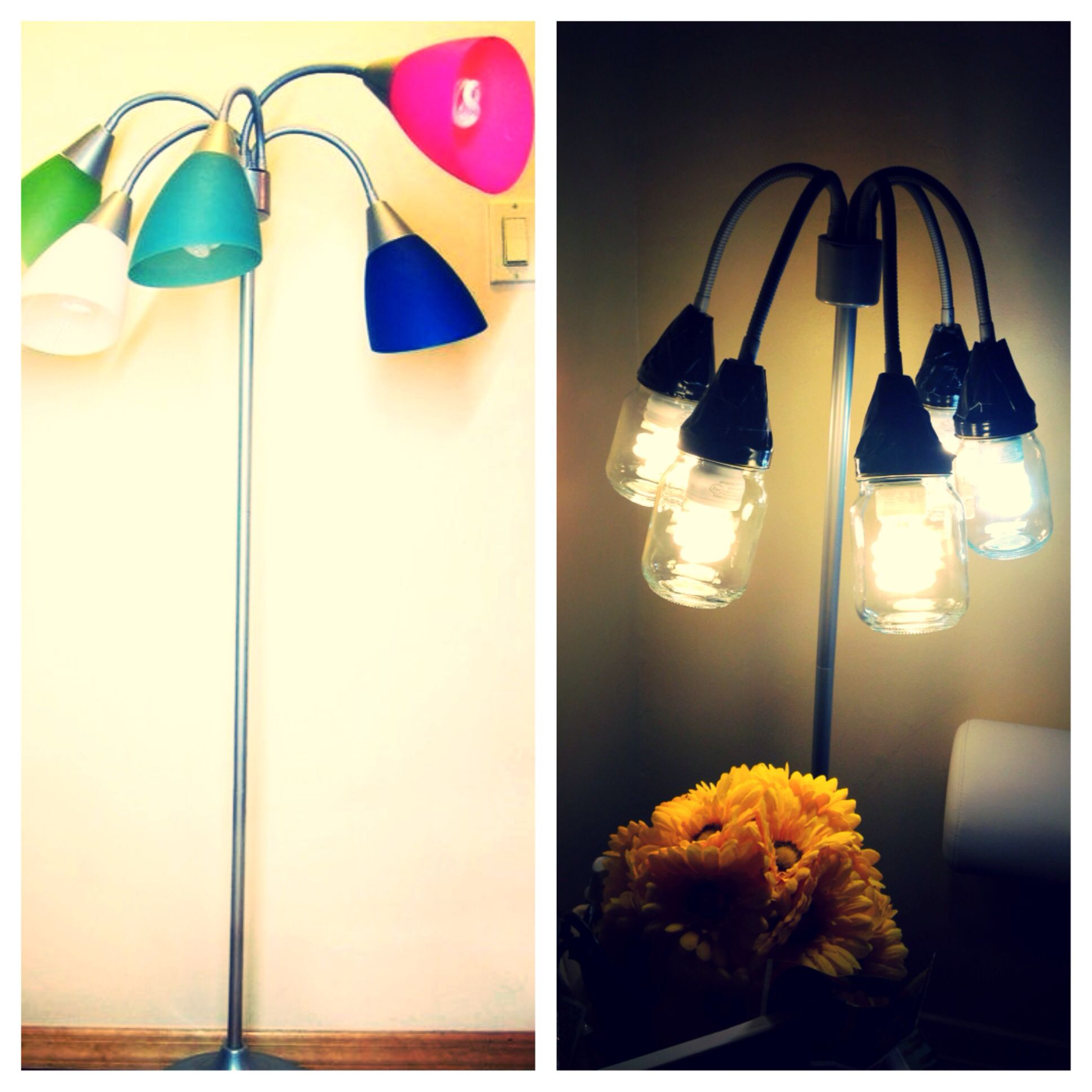 From this to that floor lamp growth childhood color to hipster ...
