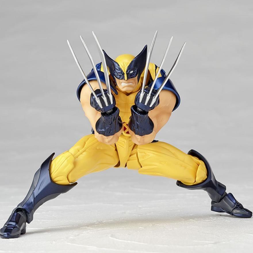 X Men Kaiyodo Figure Complex Amazing Yamaguchi Action Figure Wolverine Hypetokyo Wolverine Wolverine Superhero Superhero