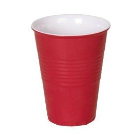 Glasses that look like plastic cups.Idk why but I need this!