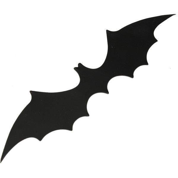 12pcs Halloween 3D Black Bat Wall Sticker Halloween Party Home... ($2.77) ❤ liked on Polyvore featuring home, home decor, holiday decorations, black home decor and halloween home decor
