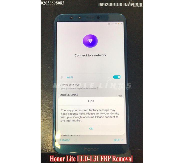 Huawei Honor 9 Lite Frp Unlocking Service Huawei Phone Phone Lock