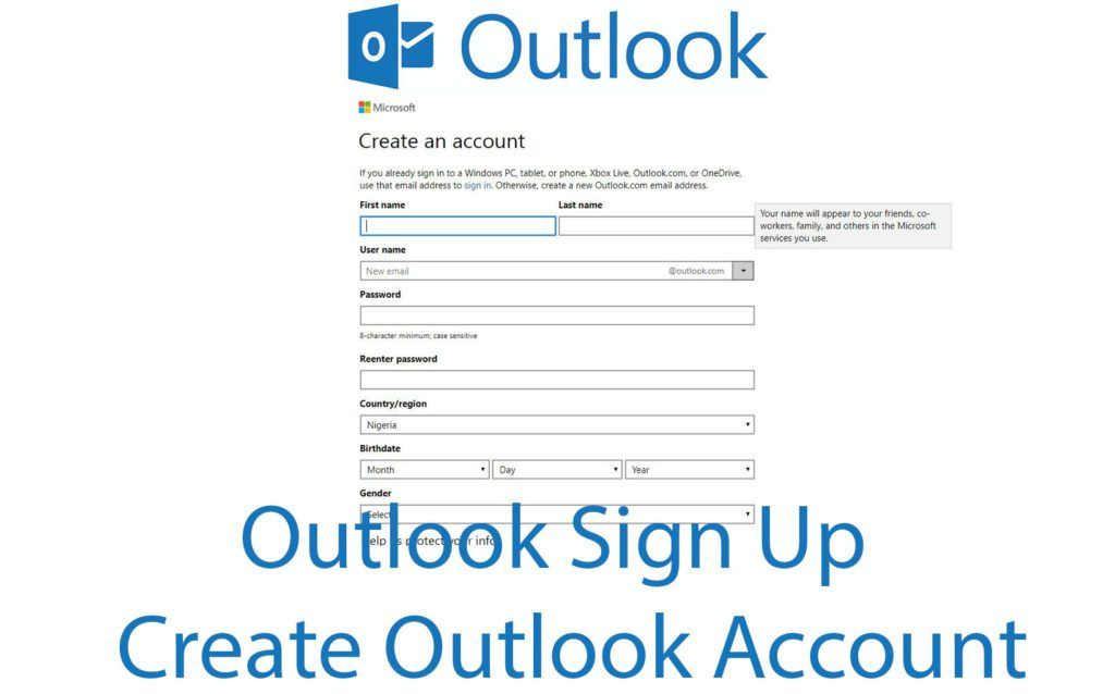 Outlook Sign Up \u2013 Create Outlook Account - Kikguru trendebook - create outlook account