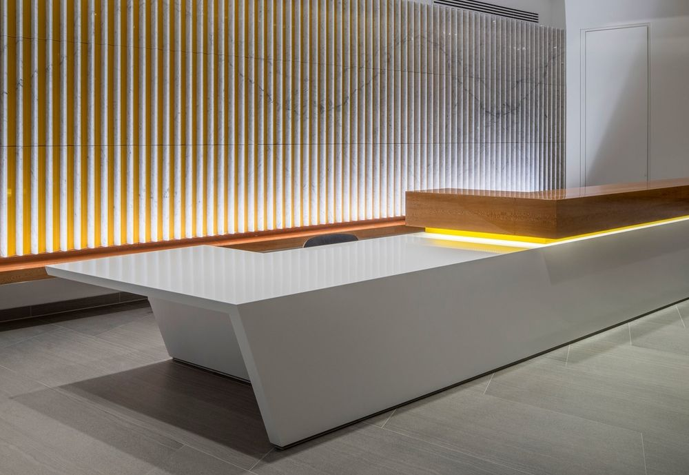 Image result for modern reception wall design | creative ...