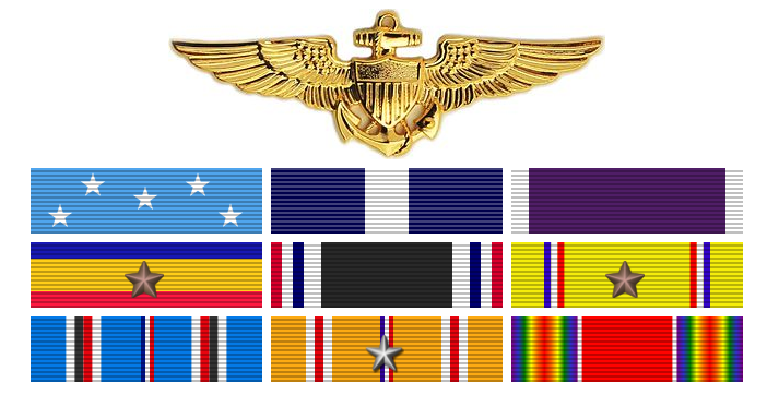 Major Gregory 'Pappy' Boyington, USMC, decorations after discharge
