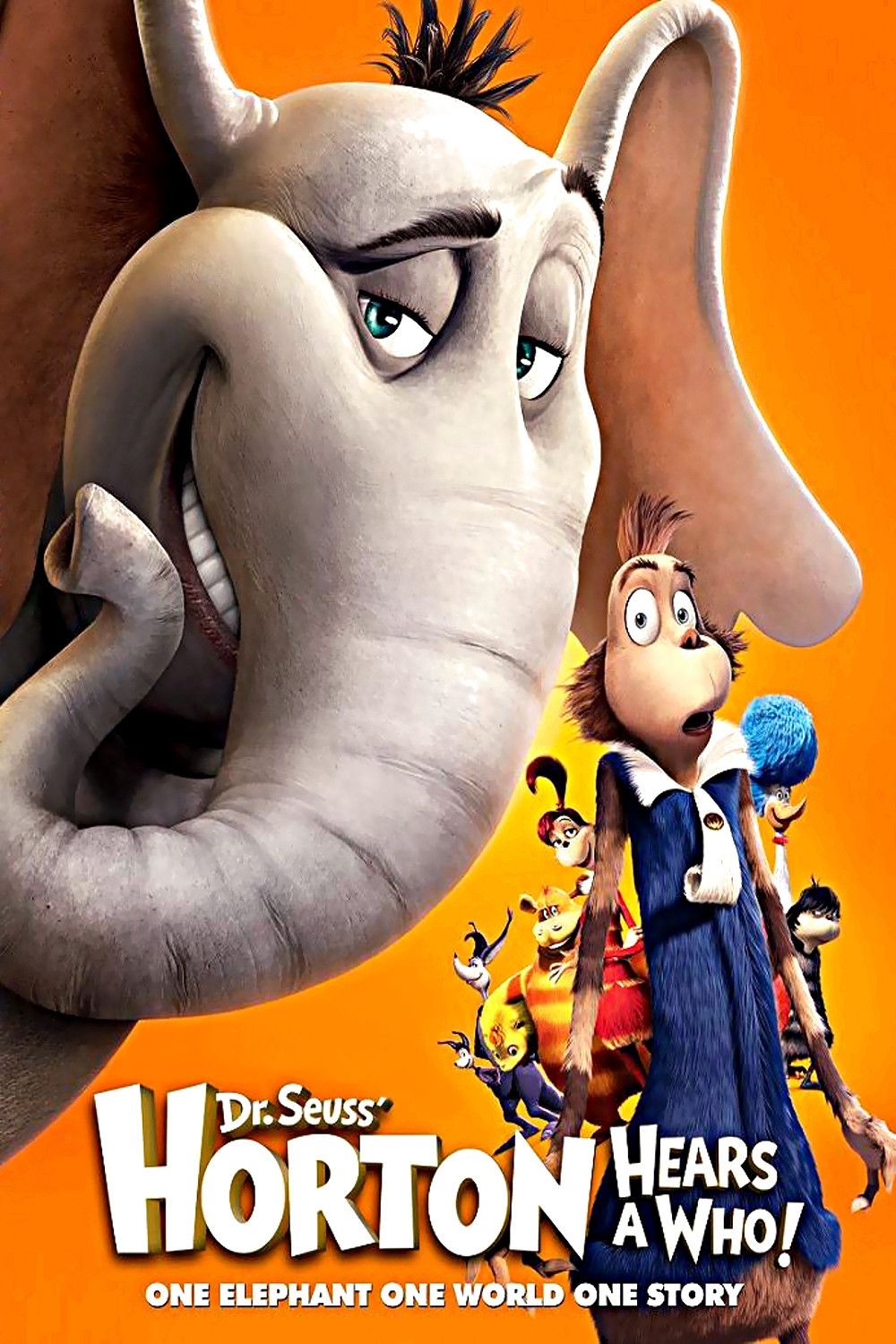 One Day Horton The Elephant Hears A Cry From Help Coming From A