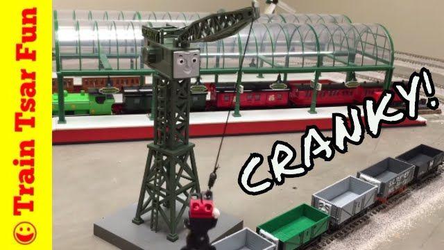 552fdfbdf11 CRANKY THE CRANE Bachmann Trains HO Scale THOMAS   FRIENDS with BILL ...