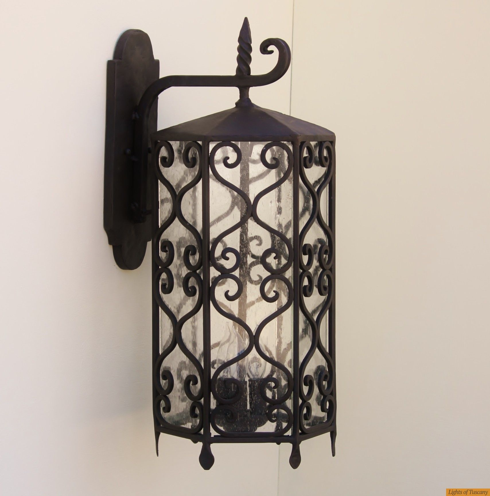 spanish revival outdoor lighting