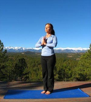 the secret to happiness  mountain pose yoga poses poses