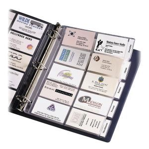 Avery Tabbed Business Card Page Ave25410 Business Card Organizer Office Organization Business Business Cards Creative