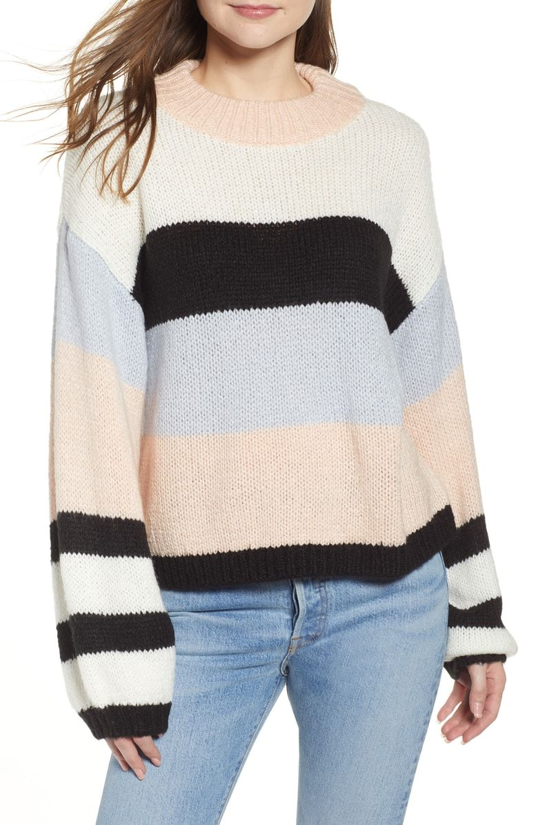 Free Shipping And Returns On Bp Stripe Sweater At Nordstrom Com