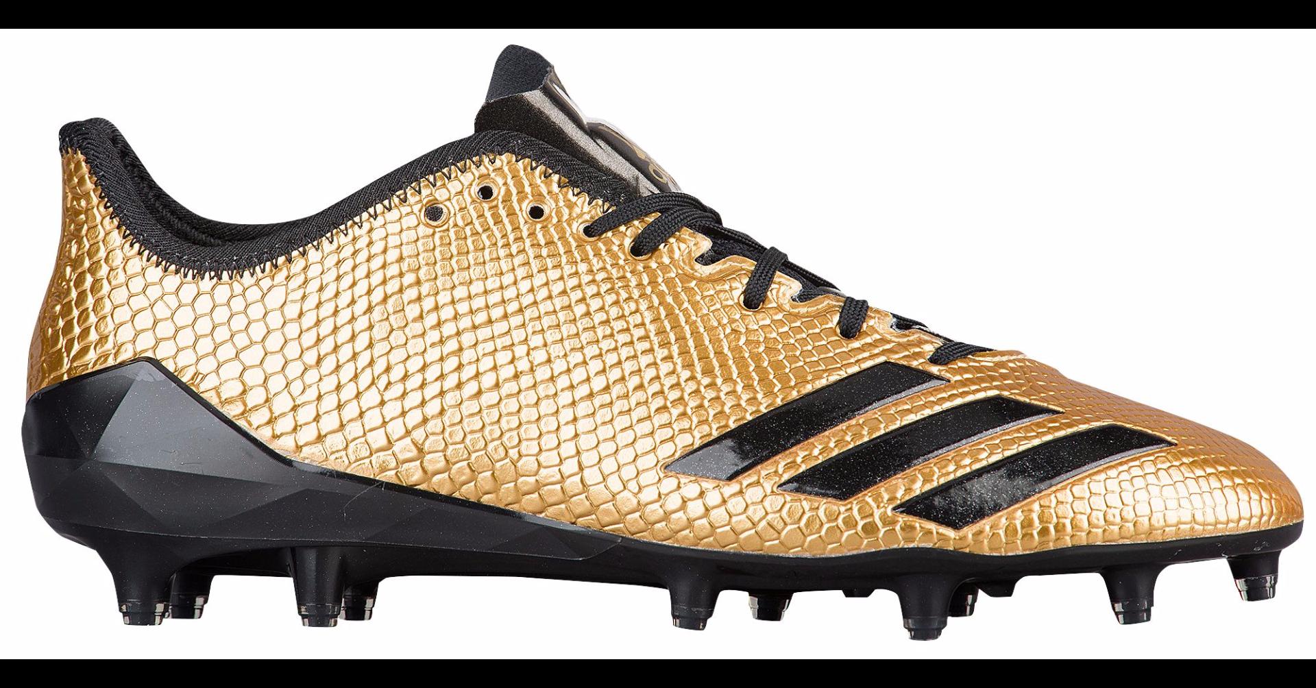 69f18f2c6 adidas adizero 5-Star 6.0 Gold Football Cleats   Cleats ...