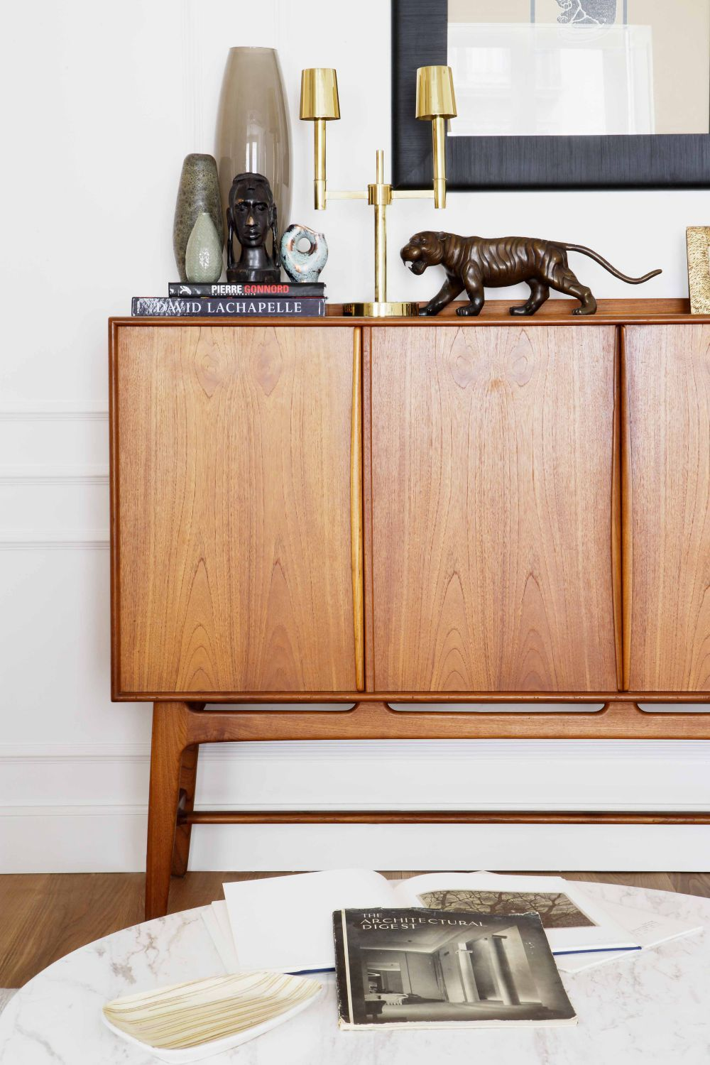 Mid-century sideboard on @thouswellblog