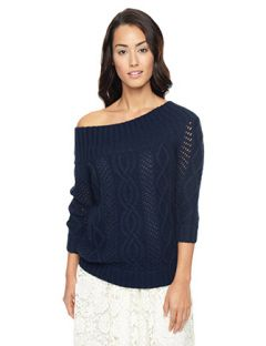 Juicy Couture Open Stitch Cable Pullover