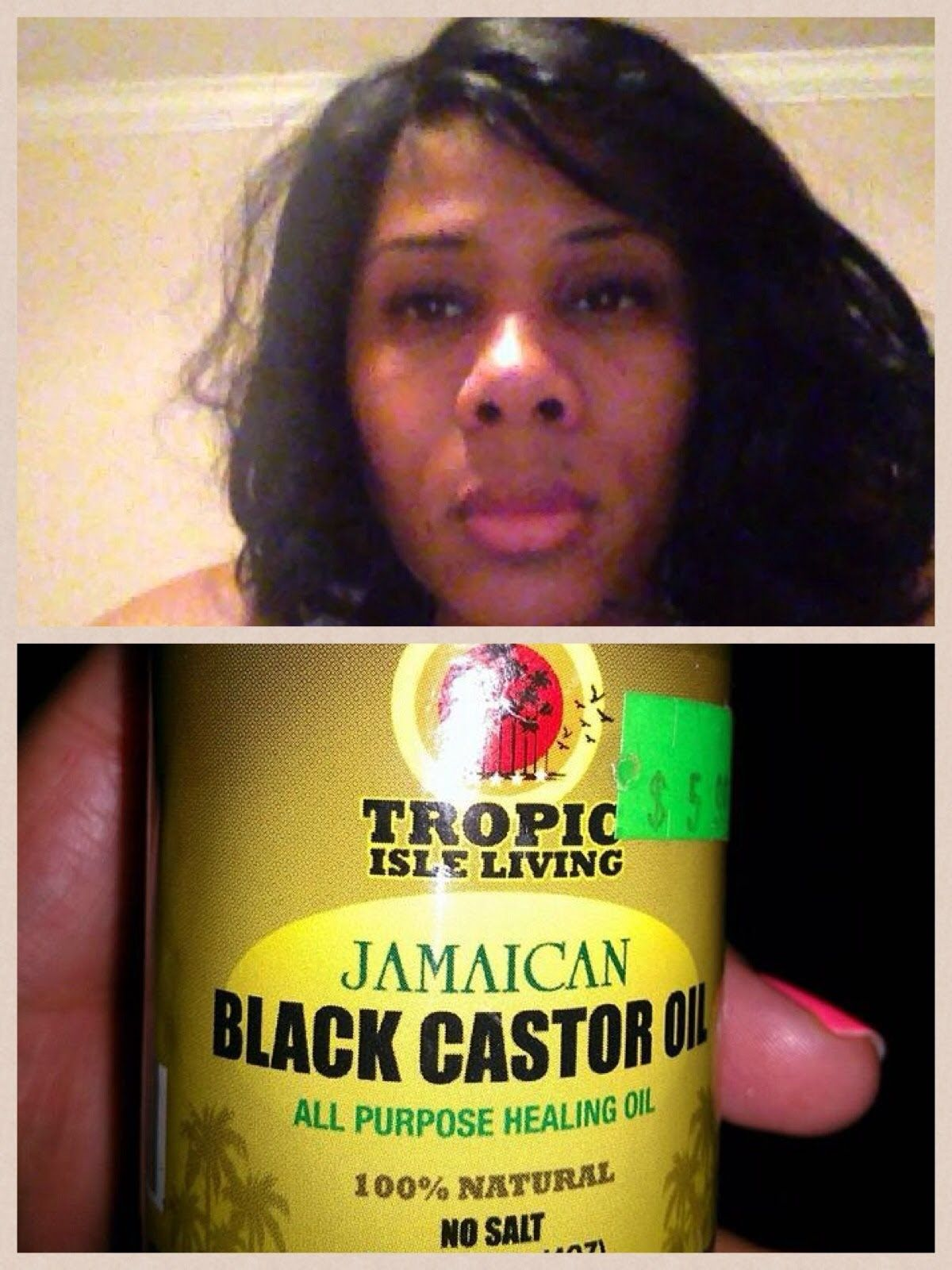 Grow Hair Using JAMAICAN BLACK CASTOR OIL (Review