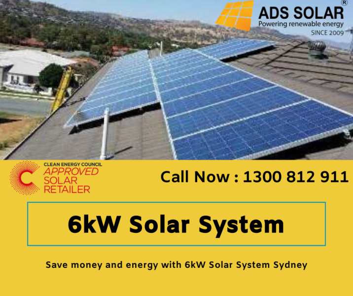 6kw Solar System Sydney At Best Prices In 2020 Solar Solar System Solar Solutions