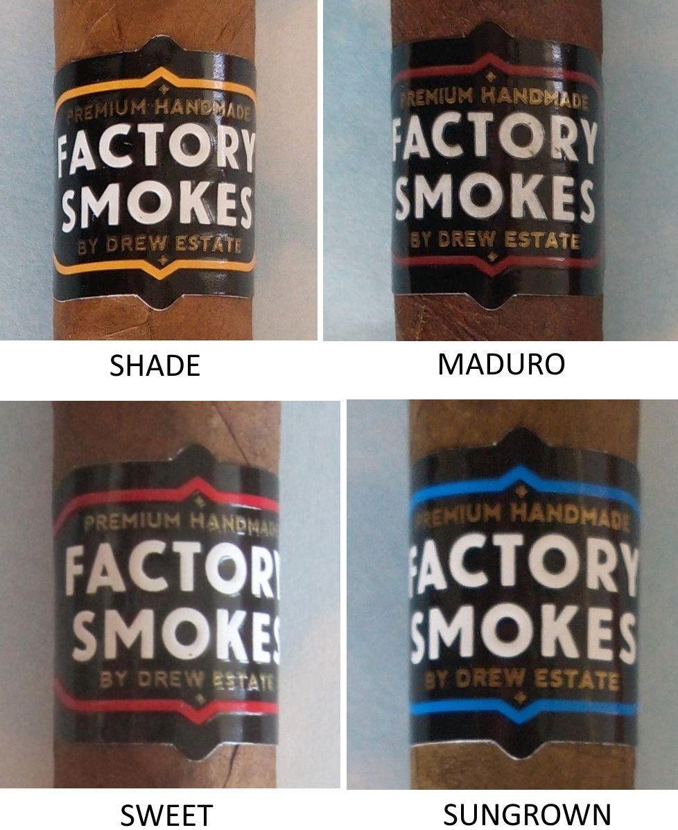 Drew Estate Factory Smokes Cigar Bands