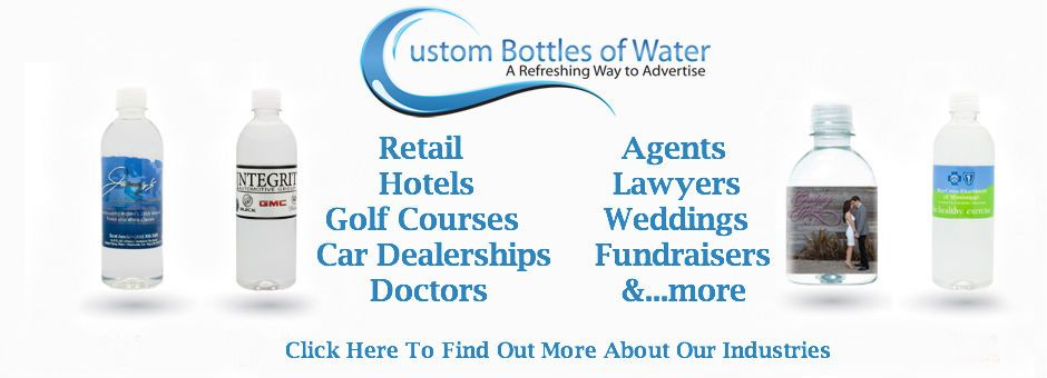 Personalized Water Bottles Private Label Water Custom Bottles