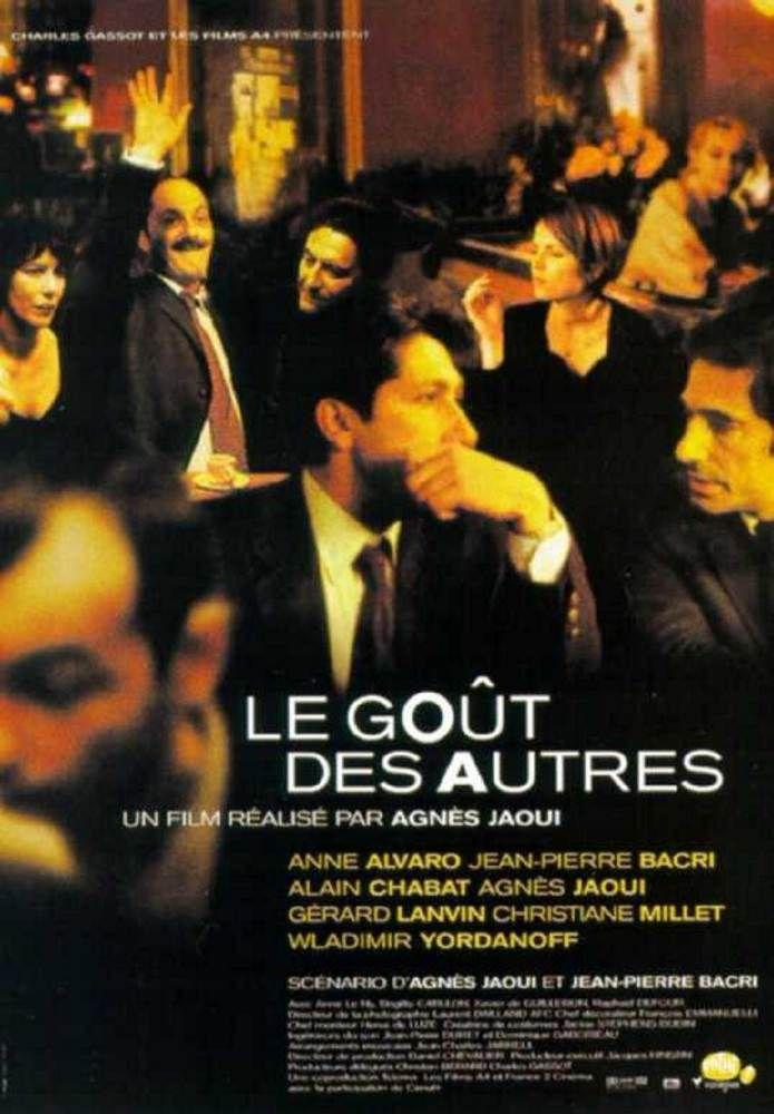 2001 Le Gout Des Autres Film Agnes Jaoui Cinema