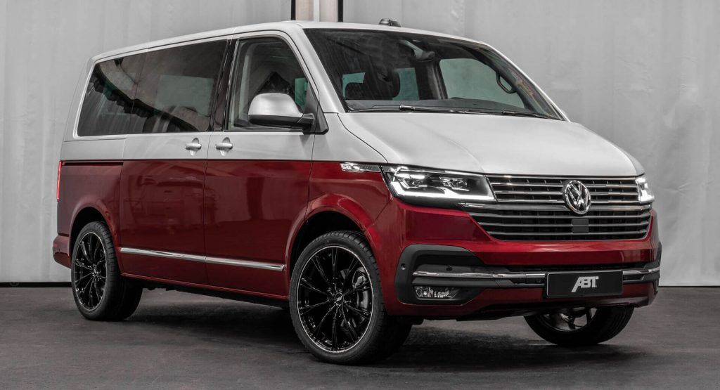 2020 Vw T6 Follows The Big Grille Trend Abt Decides It Needs More Power In 2020 Volkswagen Multivan Volkswagen Volkswagen Multivan T6